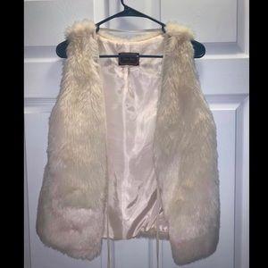 Jackets & Blazers - Faux Fur vest NWT size small